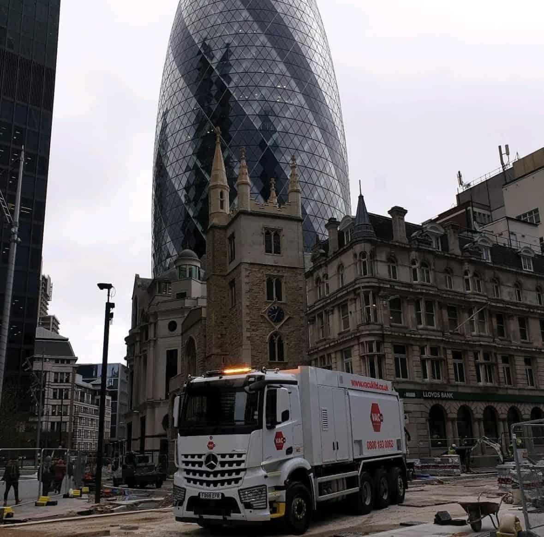 This is one of VAC UKs vacuum excavation trucks