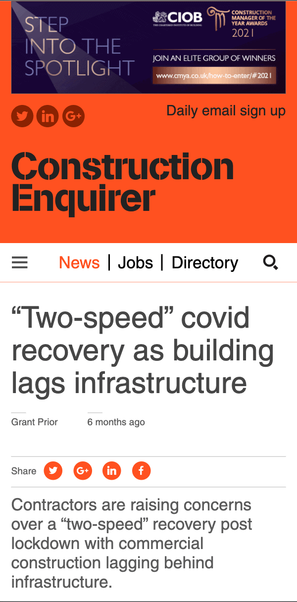 Construction Enquirer