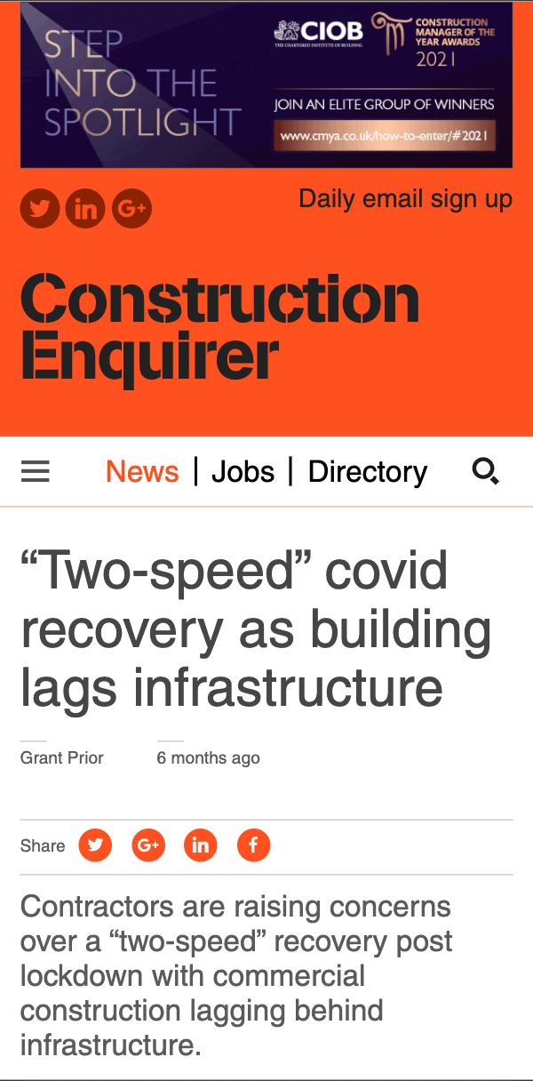 Construction Enquirer