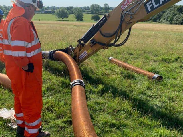 Vacuum Excavator Hose Suction Extension