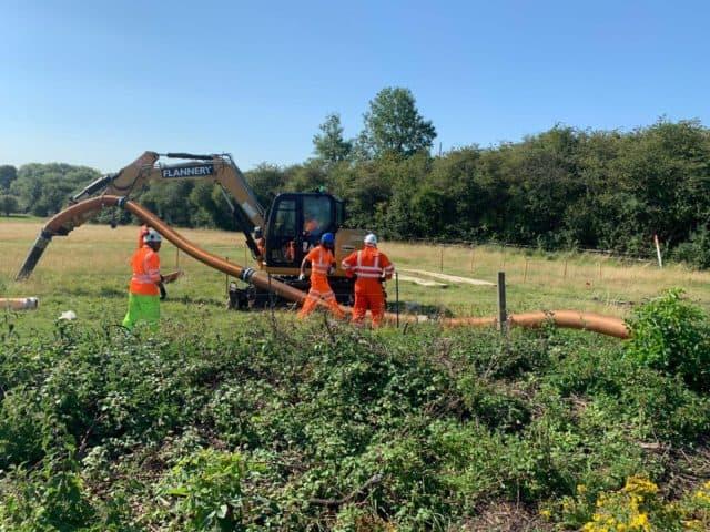 Vacuum Excavator Hose Extension 2