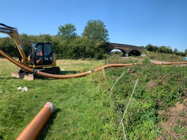 Vacuum Excavator Hose Extension