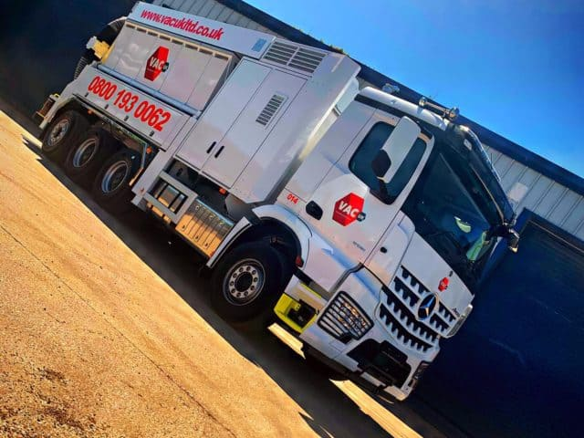Vac UK, Vac Ex hire company vacuum excavator